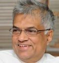 The Hindu A file picture of former Prime Minister of Sri Lanka and UNP leader Ranil Wickramasinghe. Photo: M. Vedhan.