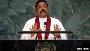 President Rajapaksa's UN speech was allegedly ghost-written by Bell Pottinger