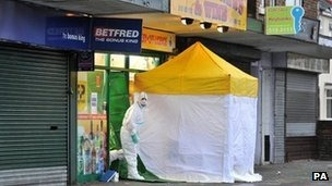 The man fatally stabbed in the shop was originally from Sri Lanka