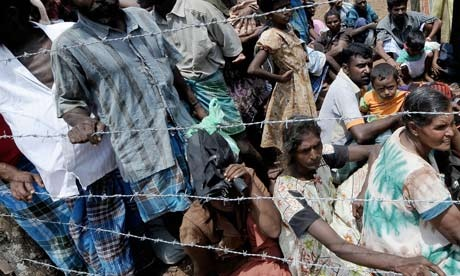 Tamils in Sri Lanka: human rights organisations warn that Tamils face mistreatment at the hands of the Sri Lankan security services. Photograph: Joe Klamar AFP Getty Images