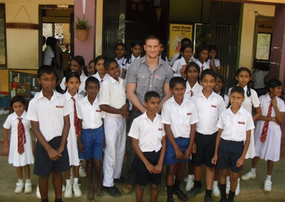 A WYRE Geography teacher has undertaken a field trip with a difference to Sri Lanka! Daniel Sutcliffe, head of geography at Poultons Hodgson Academy, spent a week at a Sri Lankan school to mark the start of a new international partnership.