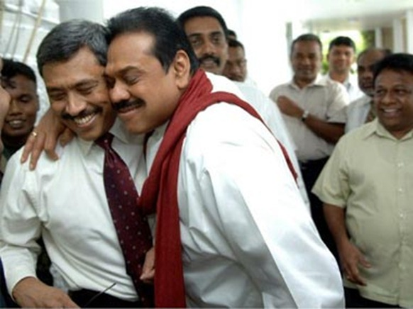 Weiss was bold enough to point fingers at even the Rajapakse's in his book: AFP