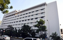 A view of an ITC hotel in Chennai. File photo