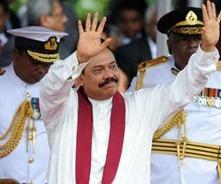 President Mahinda Rajapaksa of Sri Lanka