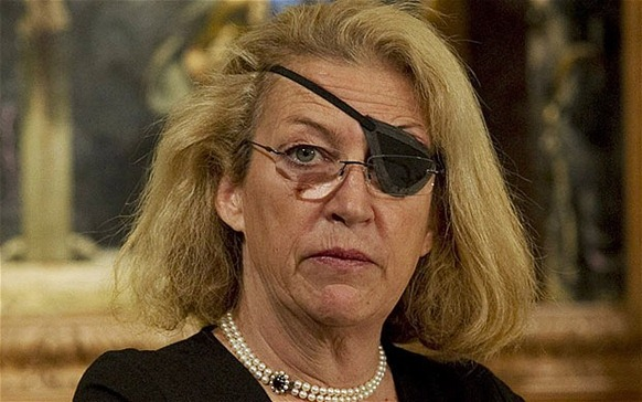 Marie Colvin of The Sunday Times Photo: GETTY