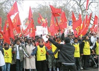 A Pro-LTTE protest march Picture courtesy: www.nowpublic.com