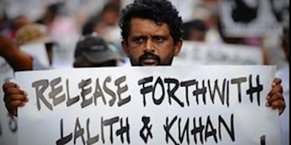 A question Sri Lanka's leaders keep dodging: Where are the disappeared Photo courtesy Avaaz