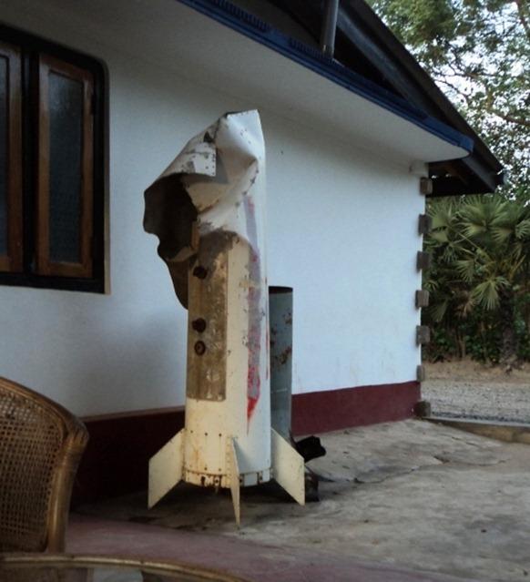 De-miners locate remains of cluster bomb in Ki'linochchi