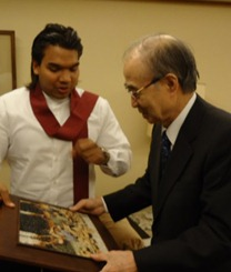 Yasushi Akashi - Namal Rajapaksa