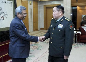 Chinese State Councilor and Defense