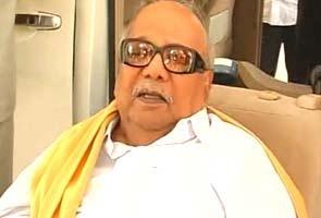DMK Karunanidhi