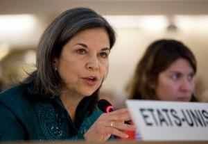 Under Secretary of State Maria Otero