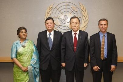 UN_Panel_Members_with_Ban UN Secretary General's Expert Panel Members
