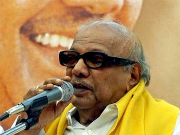 Too many times Karunanidhi has made demands and backed down. Reuters