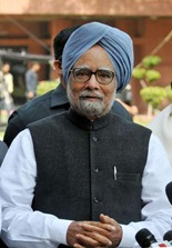 The Hindu Dr Singh addresses the media at Parliament House on Monday. Photo: R.V. Moorthy