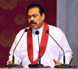 No one has to tell us what to do - President Mahinda Rajapaksa