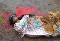 One of many Tamil female rape/murder victims who died in mid-2009 at the hands of the Sri Lanka Army, in a Genocide.