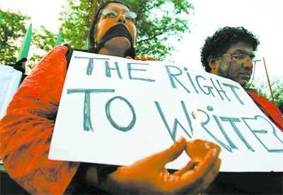The right to write - sri lanka