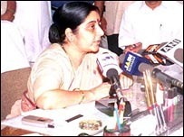 Leader of Opposition, Lok Sabha, India Sushma Swaraj