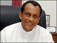 Media Minister Lakshman Yapa Abyeywardena.