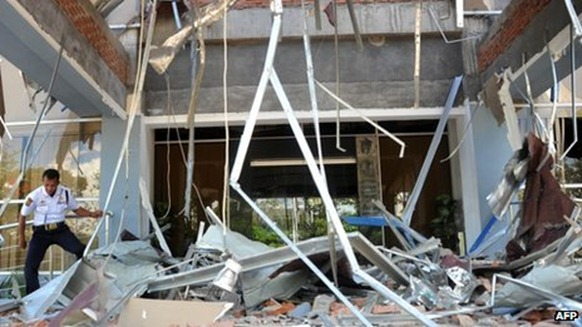 Damage to buildings from the quakes was much lighter than expected