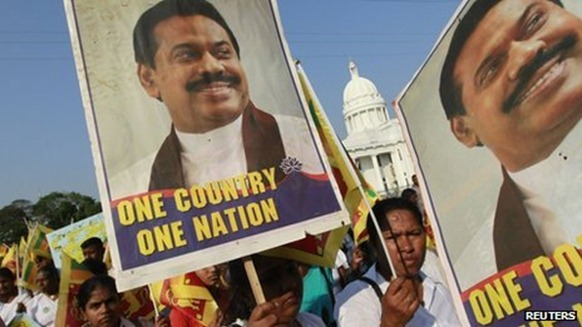 President Rajapaksa has yet to act on promises of greater rights for Tamils