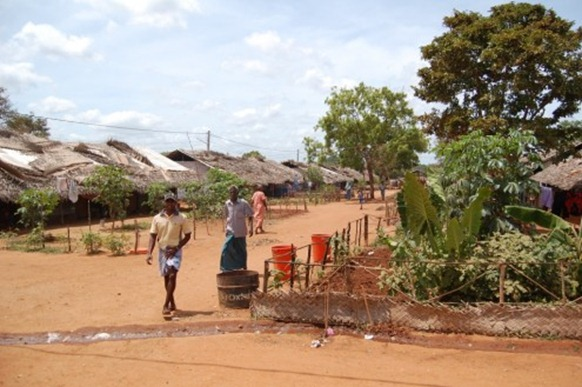 Menik-farm-Lanka Wants Six Months to Complete Resettlement