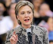 U.S Secretary of State Hillary Clinton