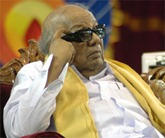 DMK chief M. Karunanidh