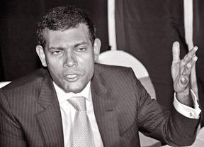President Mohammed Nasheed,