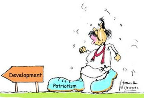 The patriotic mighty, are they right?