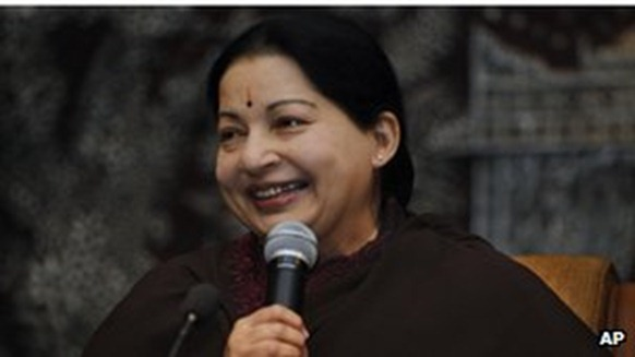 Tamil Nadu Chief Minister J Jayalalithaa - another strong regional player