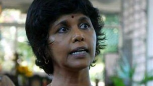 Ms Kunanayakam's demotion comes amid reports of divisions within the foreign ministry