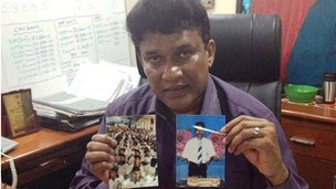 Mr Ganesan says the authorities have offered no explanation as to the fate of the three men