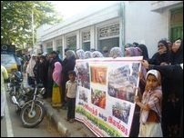 Muslim women participated actively in the protests held in Chennai against the Sri Lankan State