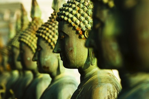 buddha_statues_gangaramaya - Photo courtesy Hemant Buch via JDS