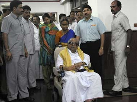 karunafamily - Wheeling out of the UPA? Unlikely.
