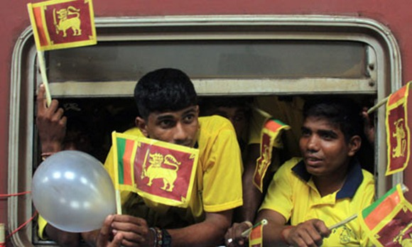 Former Tamil Tigers under rehabilitation on a tour of the south prior to their reintegration into society. Many have found it a difficult transition to make. Photograph: MA Pushpa Kumara/EPA