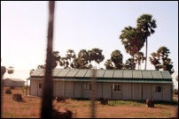 Some of the permanent buildings of the Sinhala cantonment in Maathakal