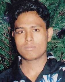 Mr Nimalaruban's parents said his body was covered in blood