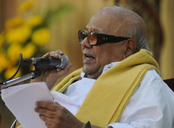 The Hindu DMK Chief and Tamil Eelam Supporters Organisation founder M. Karunanidhi. File photo