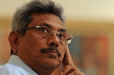 Defence Secretary Gotabaya Rajapaksa