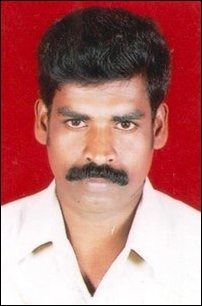 Kandiah Jeyarajah, 47, who was allegedly killed by Sri Lanka Army soldiers