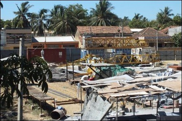 SLA has appropriated lands from Northern provincial ministry of education at Jaffna city
