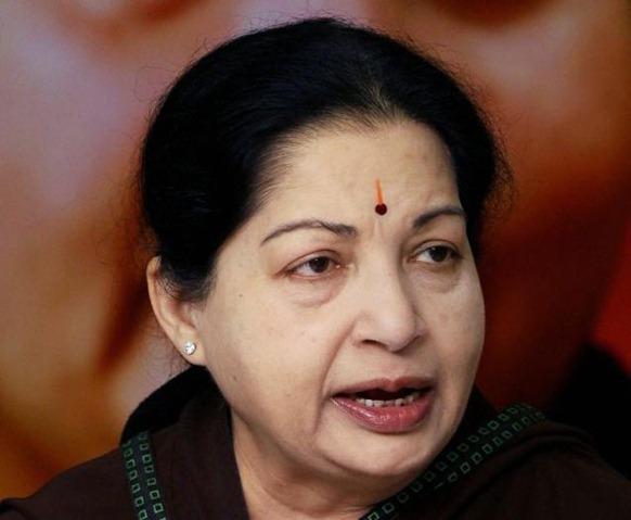 PTI Tamil Nadu Chief Minister Jayalalithaa. File photo