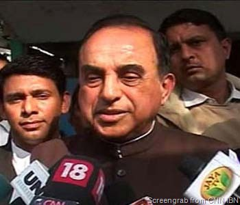 swamy - Screengrab from CNN IBN