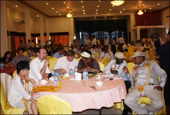 Commonwealth parliamentarians hosted in SL occupied Jaffna