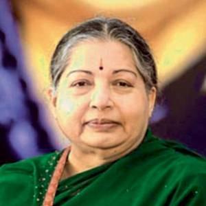 J. Jayalalithaa.