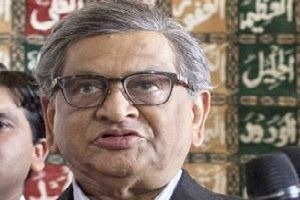 Foreign minister S M Krishna again called for early resumption of talks for political reconciliation in Sri Lanka in a meeting with a seven-member delegation of the Tamil National Alliance led by R Sampanthan.