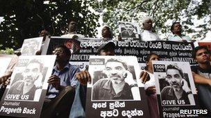 Cartoonist and journalist Prageeth Ekneligoda has been missing for 1,000 days